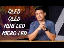 Ce înseamnă QLED, OLED, MINI LED ȘI MICRO LED
