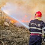 Incendiu la groapa de gunoi a Aradului