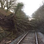 Infotrafic: Circulaţie blocată din cauza vremii pe o magistrală feroviară şi două drumuri naţionale