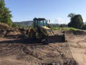 Un dig contra inundațiilor de pe malul râului Tisa, la Sighetu Marmației, distrus de lucrările ilegale de terasament | AUDIO