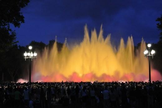 Magic fountain Montjuic 01