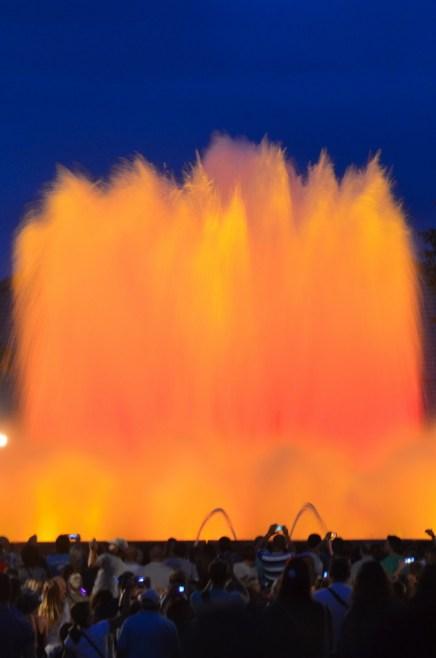 Magic fountain Montjuic 10