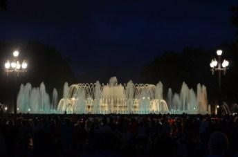 Magic fountain Montjuic 13