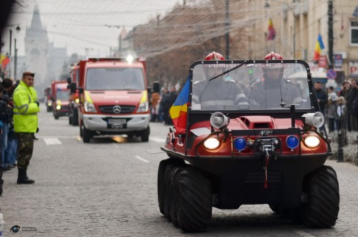 Parada militara 1 decembrie Iasi 20