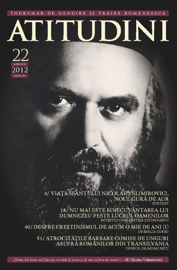 Revista Ortodoxa ATITUDINI nr. 22