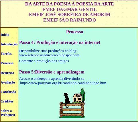 Arte e Poesia - Webquest (5/6)
