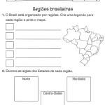 Atividades de Geografia – Exercícios Ensino Fundamental