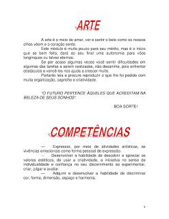 Atividades ARTES ensino fundamental exercicios imprimir (1)