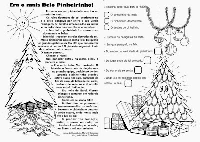 Atividades de Natal - Textos para interpretação 2