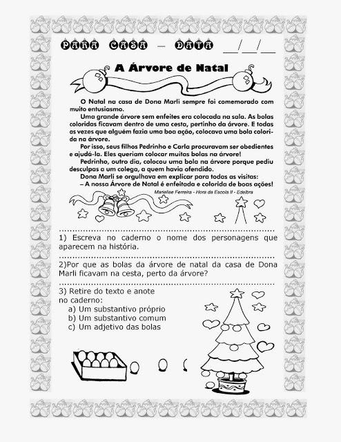 Atividades de Natal - Textos para interpretação 4