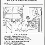 Avaliações de português para 4º bimestre