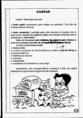 portugues infantil faça um texto