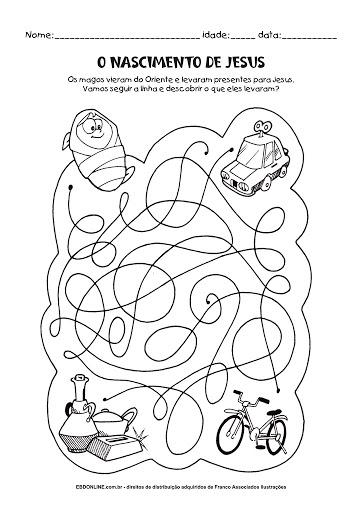Atividade desenhos para colorir