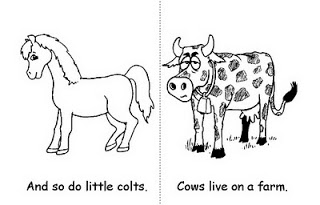 Atividade inglês sobre animais