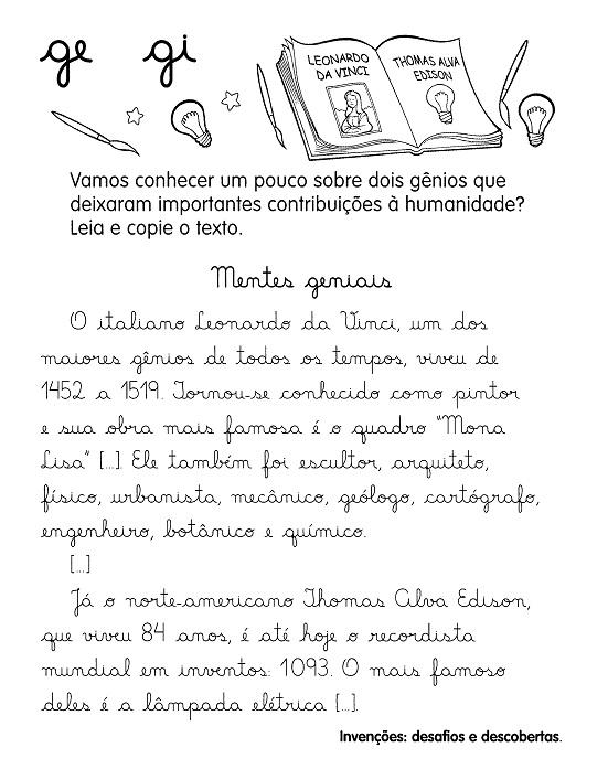 TEXTOS PARA DITADO - ORTOGRAFIA