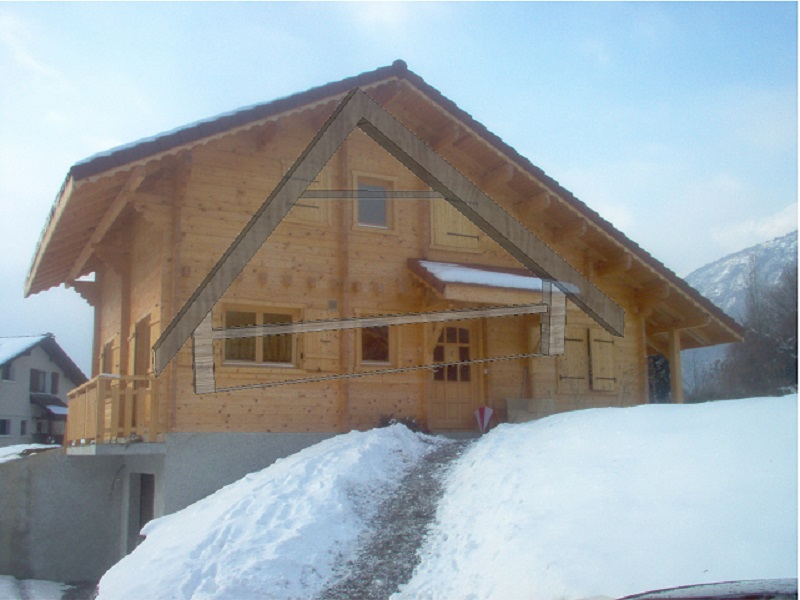 Holzhäuser Winter - AtiWood