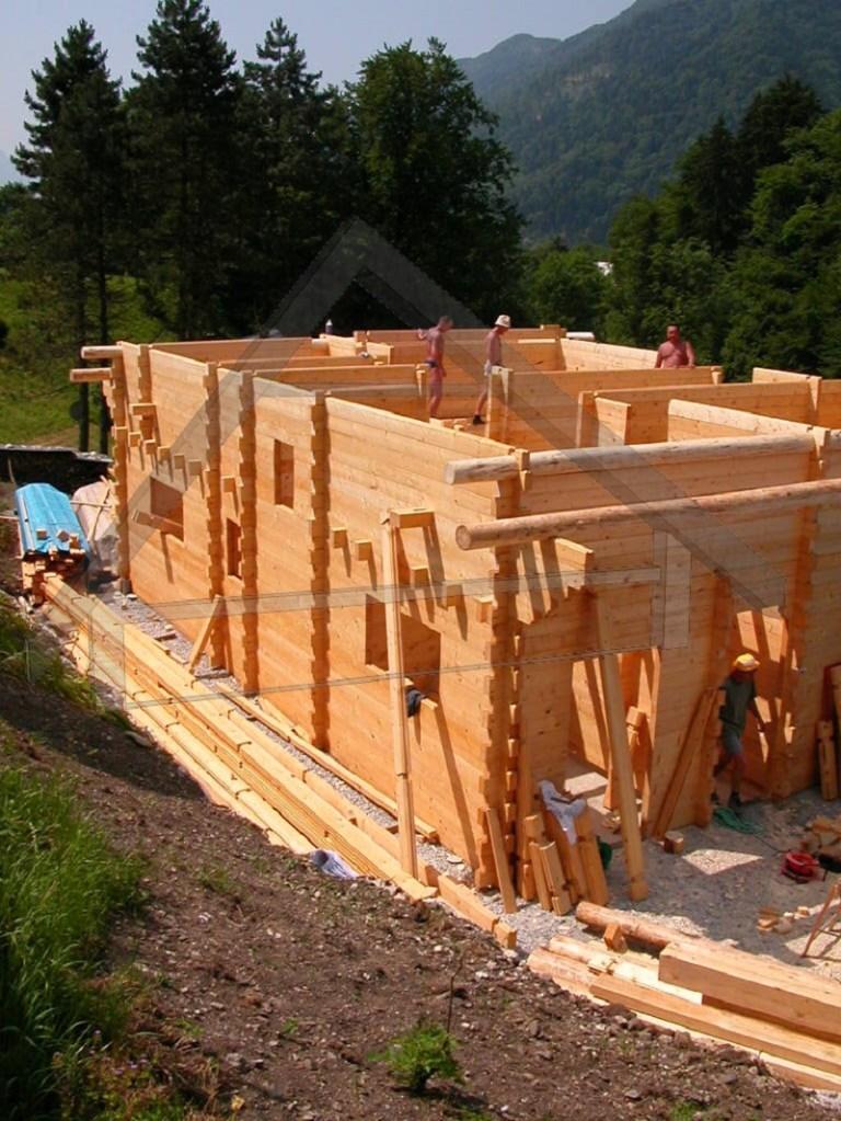 maison en bois logements - AtiWood