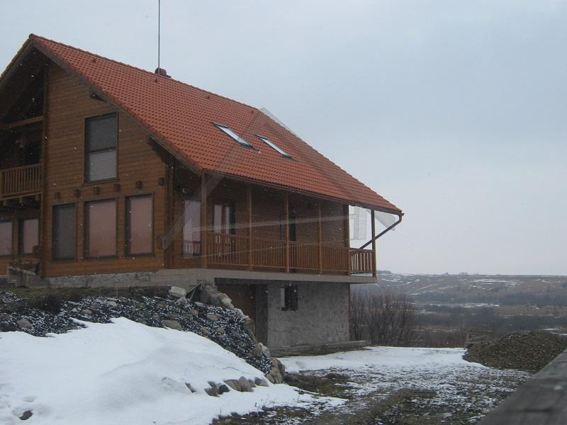 Mur de la maison en bois de 140 mm d'épaisseur - AtiWood