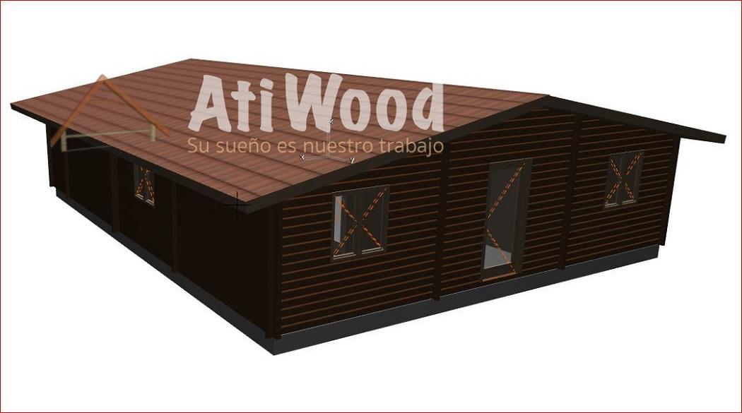 113 m2 Fassade - AtiWood
