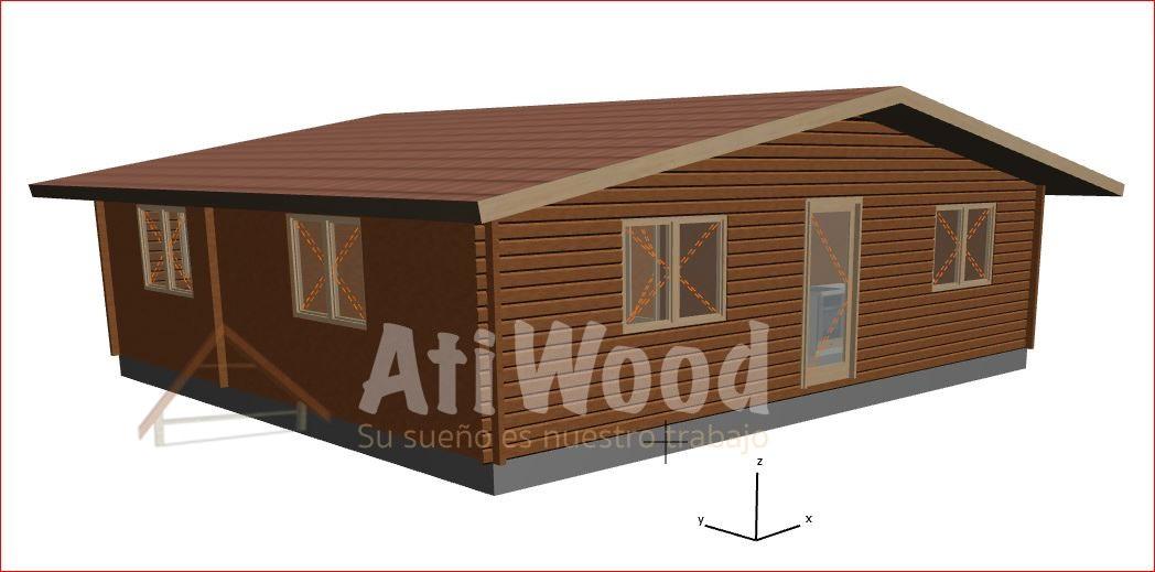 fachada 83 m2 - AtiWood