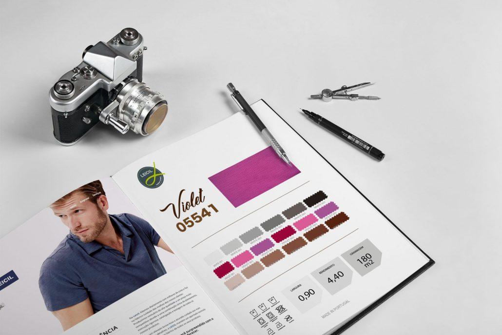 Portfolio Leicil Web design e design gráfico em Braga.
