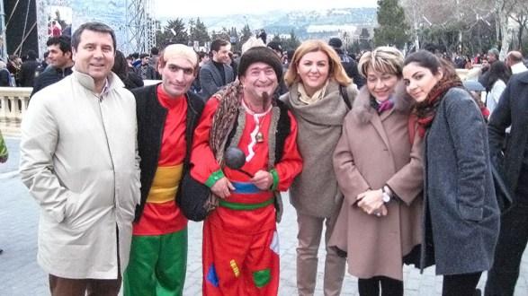 2013 NEVRUZ Bayramı'nı Azerbaycan Baki'de kutladık