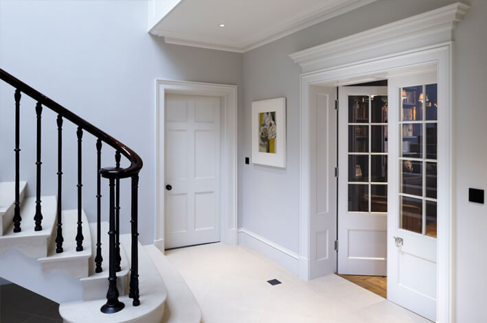Atkey and Company Georgian doors, door linings and skirting boards