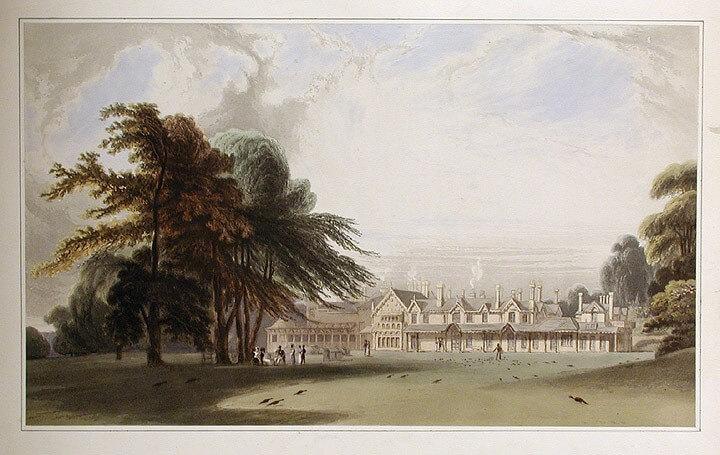 Royal Lodge Drawing