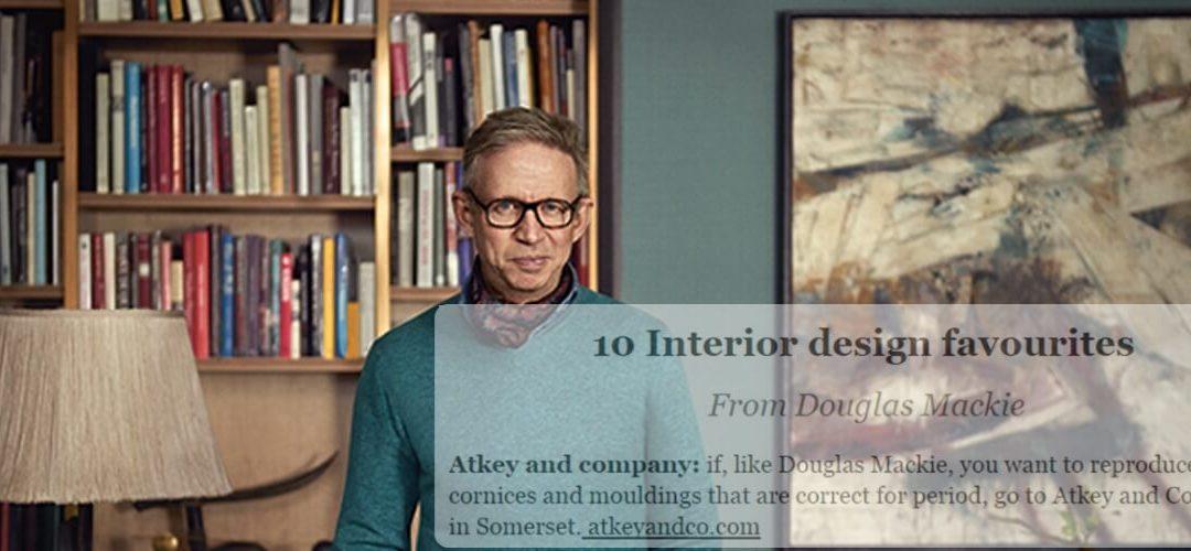 Douglas Mackie Interior Design Favourite