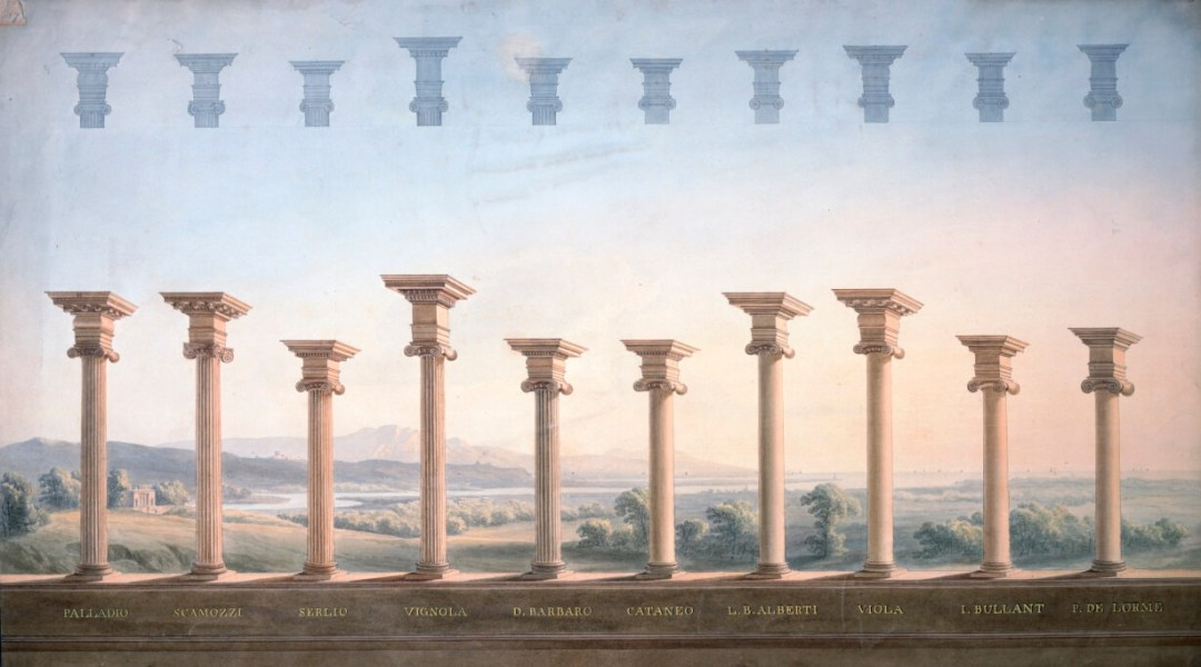 Architectural orders from the Soane Collection