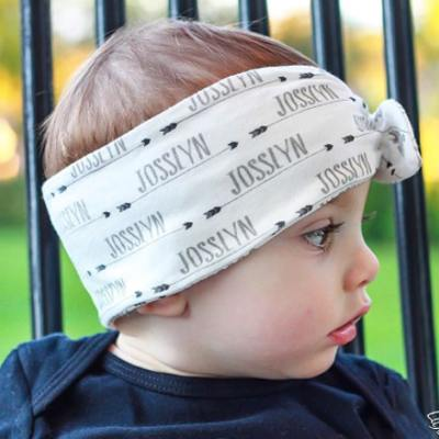 Personalized Arrow Headband