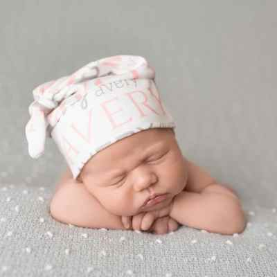 Personalized Baby Hospital Hat