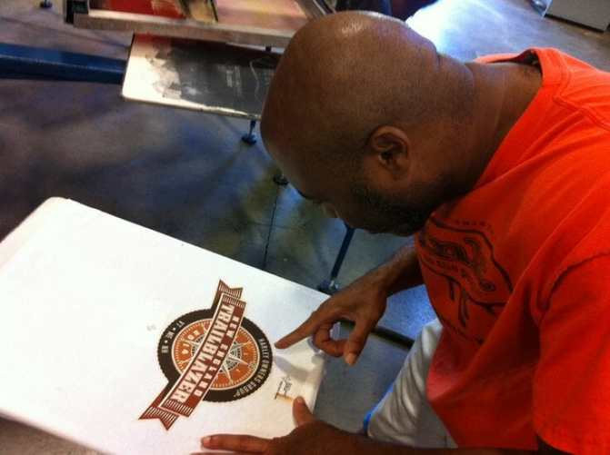 Checking Registration on Press - Marshall Atkinson