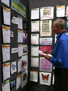 Marshall Atkinson Judging SGIA Expo Golden Image Awards