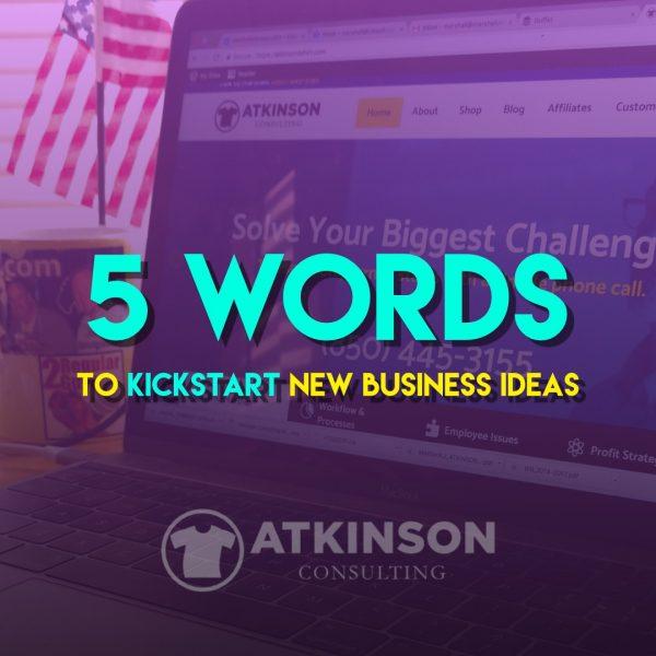 5 Words - Marshall Atkinson