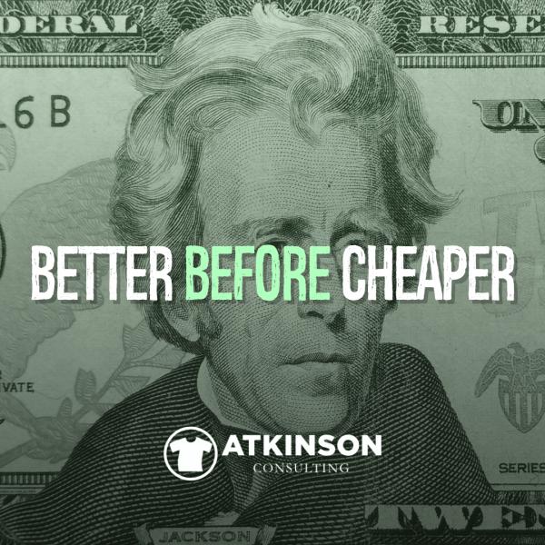 Better Before Cheaper