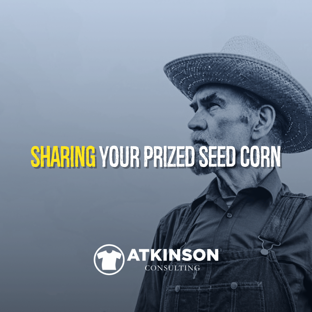 Sharing Your Prized Seed Corn