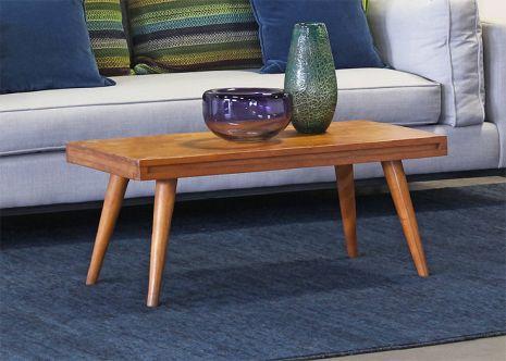 vintage mid century coffee table