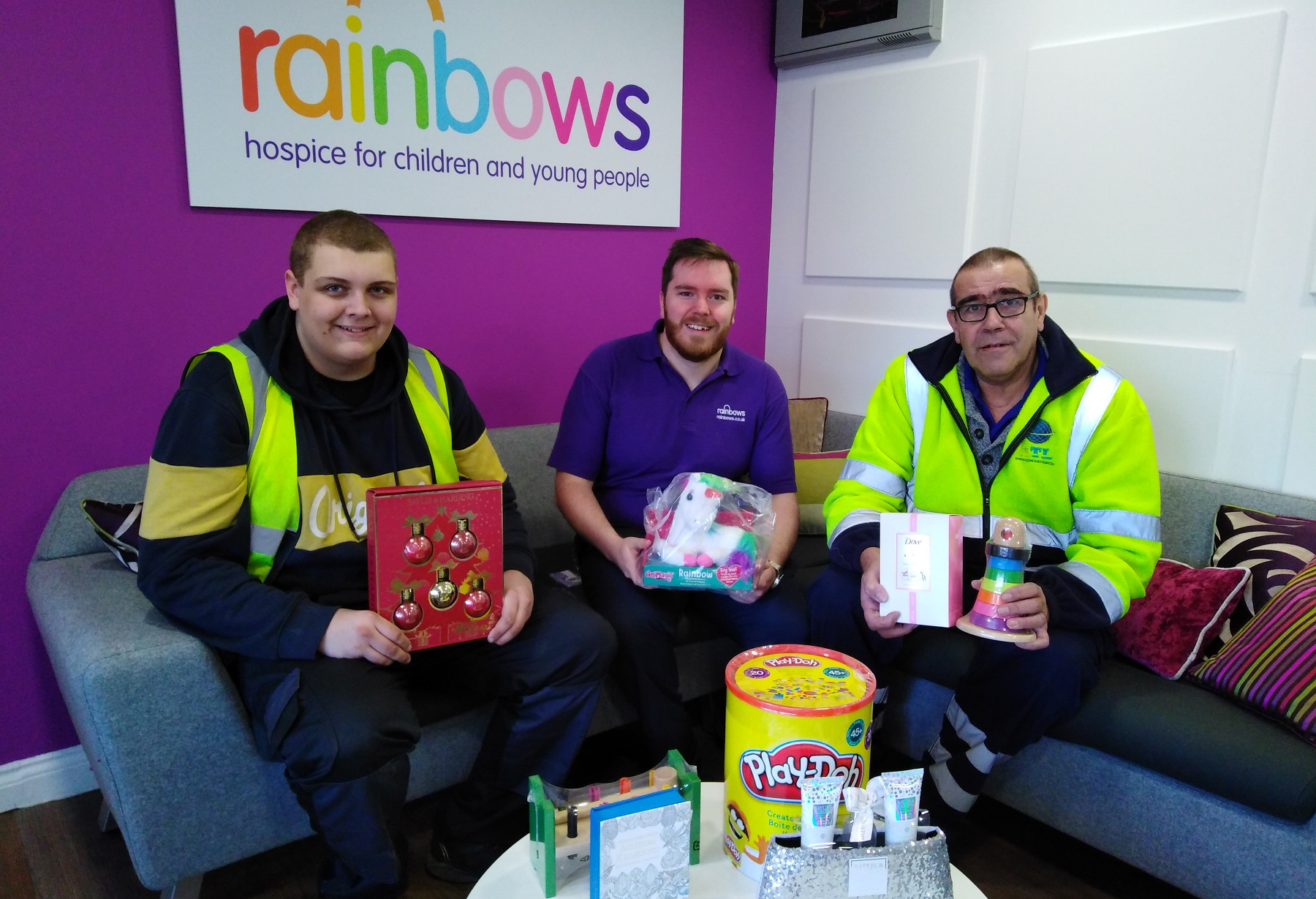 Rainbows Christmas Donations
