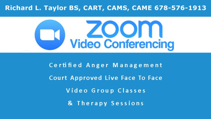 Anger Management Zoom Services