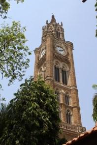 Clock tower at Mumbai University