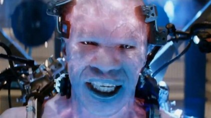 jamie foxx as electro in the amazing spider-man 2 movie