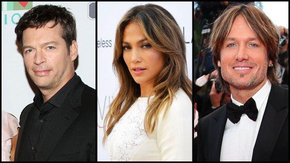 Harry Connick, Jennifer Lopez, Keith Urban American ldol judges