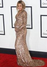 Ciara shines on Grammys Red Carpet 2014