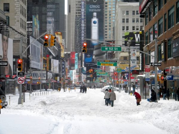 Northeaster states suffer from winter storm