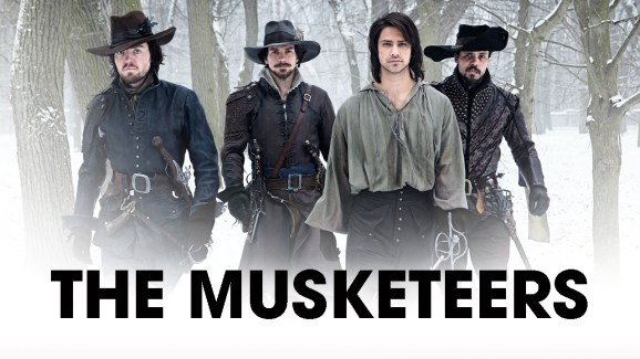 Image result for the musketeers