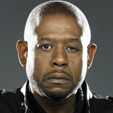 forest whitaker lazy eye