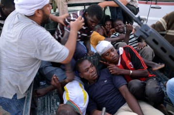 racism in libya against blacks