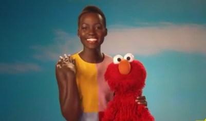 Lupita Nyong'o celebrates brown skin on Sesame Street