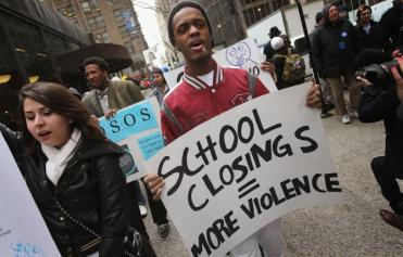 Racist school closures